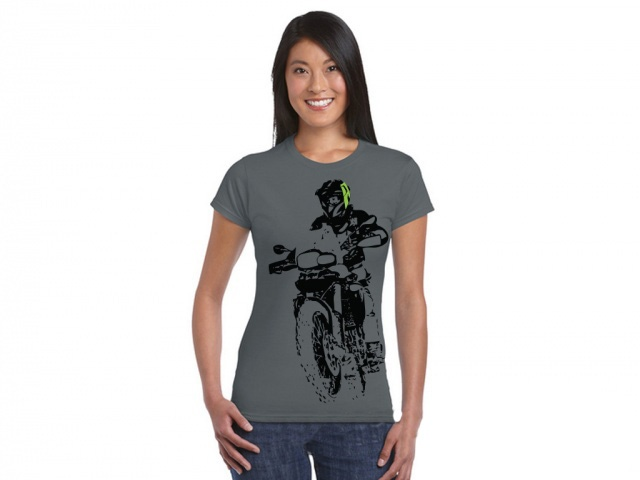 AltRider F 800 Throttle Up Women's T-Shirt - Feature