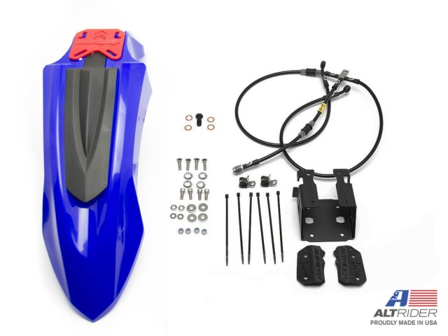 AltRider High Fender Kit for the Yamaha Tenere 700 - Blue - Feature