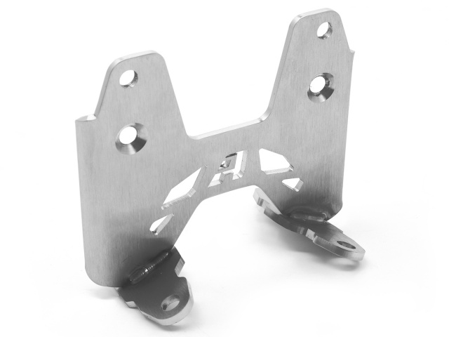 AltRider High Fender Mount for the Triumph Scrambler - Silver - Feature