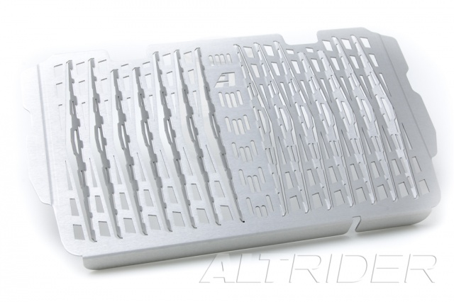 AltRider Radiator Guard for Ducati Multistrada (2015-current) - Silver - Feature