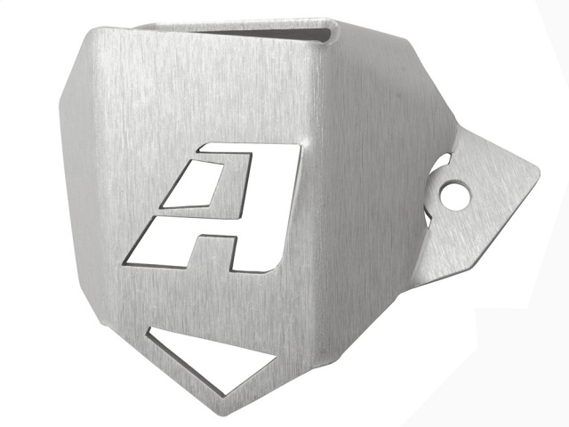 AltRider Rear Brake Reservoir Guard for the BMW R nineT Models - Silver - Feature
