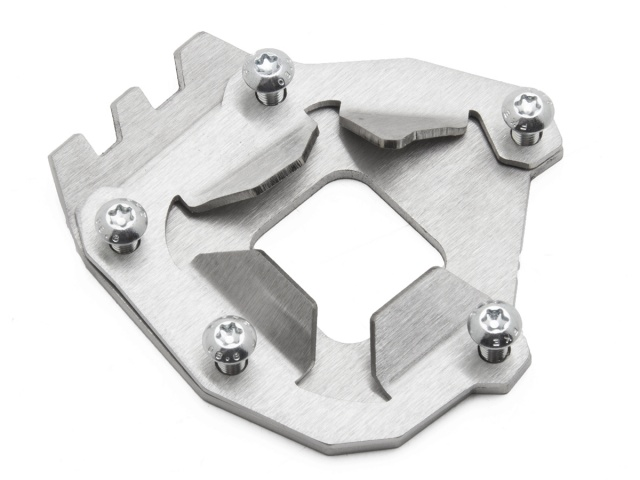AltRider Side Stand Foot for the Yamaha Super Tenere XT1200Z (2014-current) - Silver - Feature