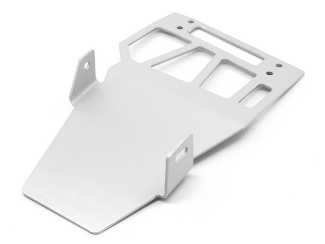 AltRider Skid Plate Extension for the Honda CRF1000L Africa Twin - Silver - Feature