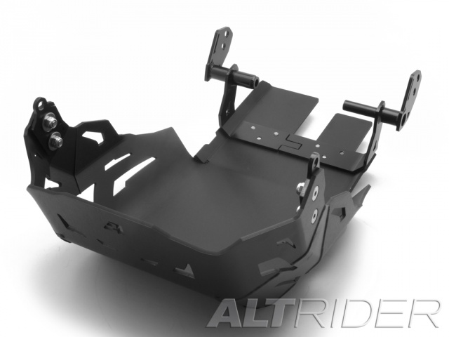 AltRider Skid Plate for the KTM 1050/1090/1190 Adventure / R - Black - Feature