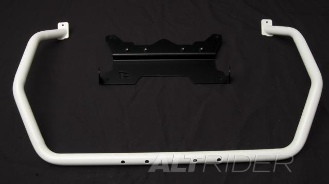 AltRider Upper Crash Bars Assembly for the BMW R 1200 GS (2008-2012) - White - Feature