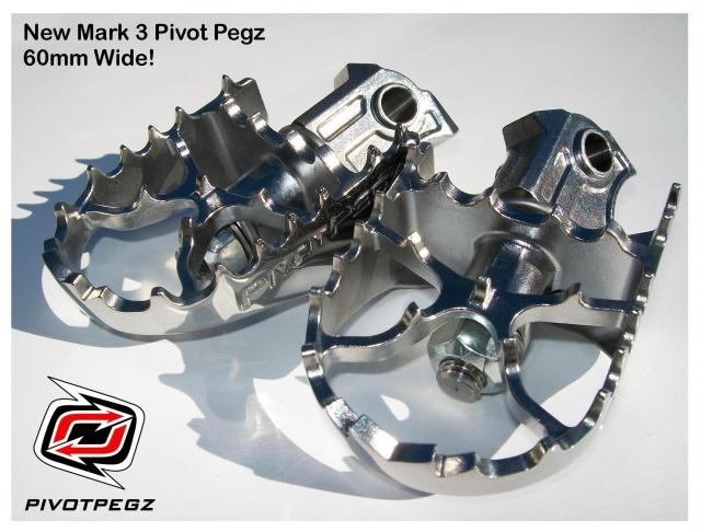 Pivot Pegz MK3 for Yamaha YZ, YZF, & WR (2008-current) - Feature