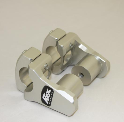 "ROX 1-3/4"" Pivoting Handlebar Risers for 1-1/8"" Handlebar - Feature"