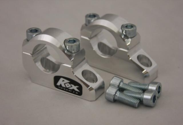 "ROX Pro-Offset Block Riser 1 1/4"" Up or 1"" Back for 1 1/8"" Handlebars - Feature"