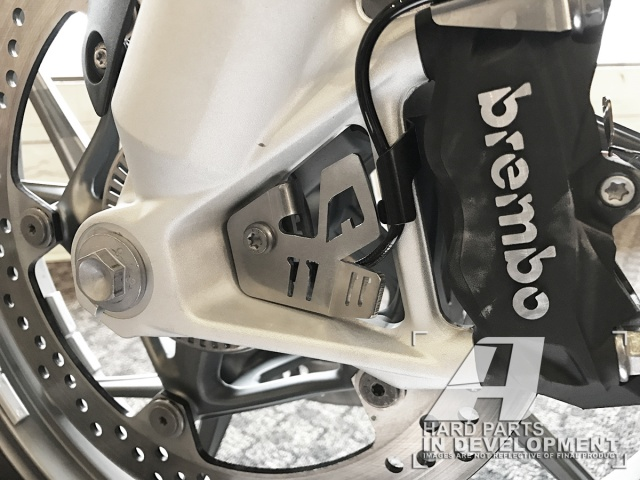 AltRider ABS Sensor Guard for the BMW R 1200 & R 1250 Water Cooled - Installed