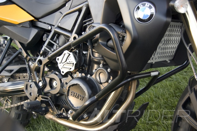AltRider Crash Bars for the BMW F 700 GS - Installed