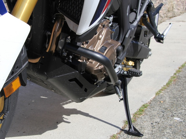 AltRider Crash Bars for the Honda CRF1000L Africa Twin  - Installed