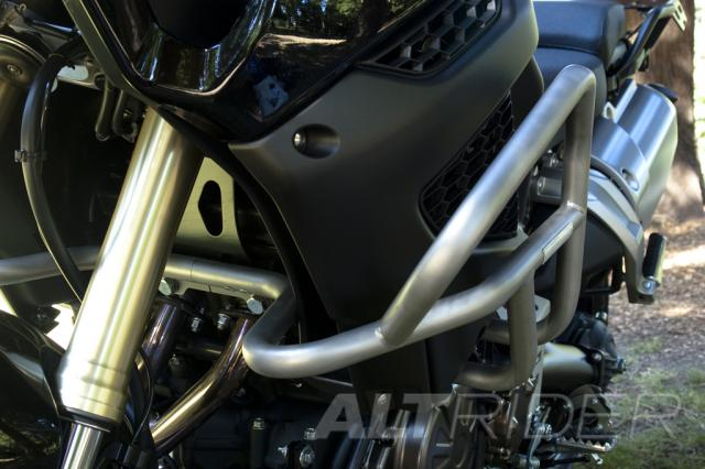 AltRider Crash Bars for the Yamaha Super Tenere XT1200Z - Silver - Installed