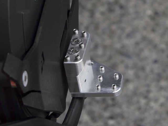 AltRider DualControl Brake Lever Tip System for KTM / Husqvarna Models - Installed