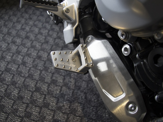 AltRider DualControl Brake System for the BMW F 850 / 750 GS - Installed