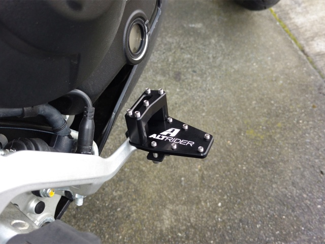 AltRider DualControl Brake System for the Ducati Multistrada - Installed