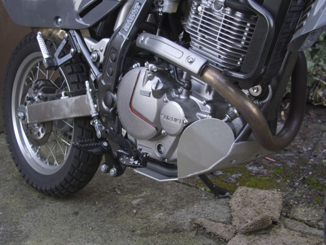 AltRider DualControl Brake System for the Suzuki DR 650 - Installed