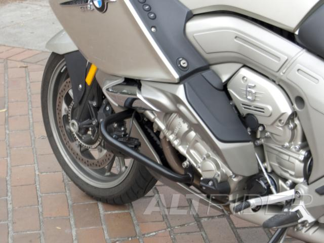 AltRider Engine Protection Bars for BMW K 1600 GT / GTL (2011-2012) - Black - Installed