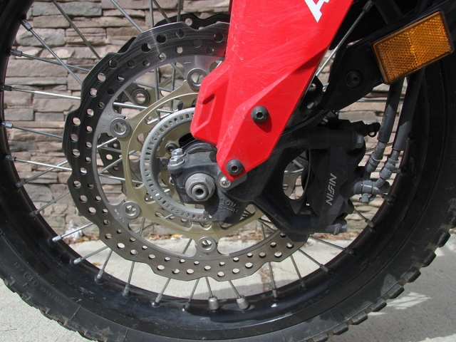 AltRider Fender Riser Kit for the Honda CRF1000L Africa Twin/ ADV Sports (2016-2018) - Installed