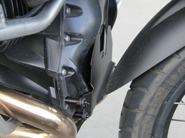 AltRider Front Engine Guard for BMW R 1200 & R 1250 Water Cooled - Installed