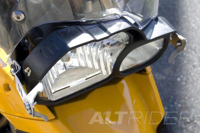 AltRider Glare Guard for the BMW F 800 GS  /A - Installed
