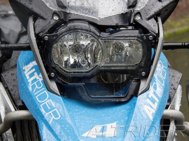 AltRider Headlight Guard Extended Kit for the BMW R 1200 GS Water Cooled (2013-2016) - Installed