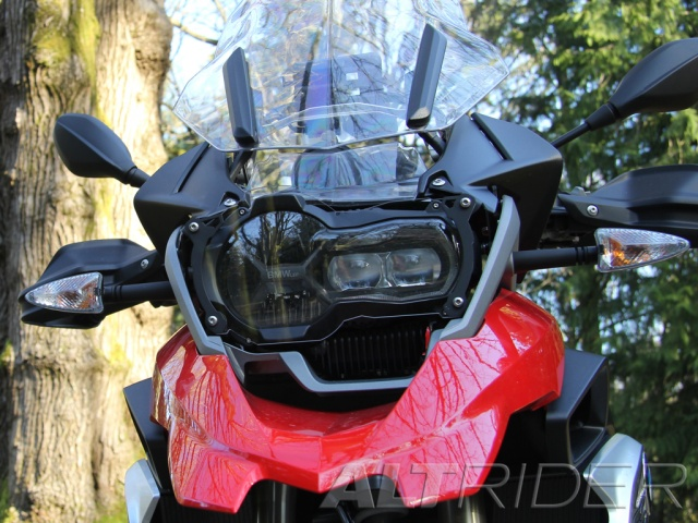 AltRider Headlight Guard Kit for the BMW R 1200 & R 1250 GS /GSA (2013-2020) - Installed