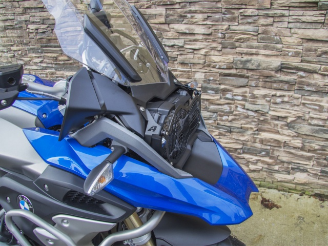 AltRider Headlight Guard Kit for the BMW R 1200 & R 1250 GS /GSA Water Cooled - Installed