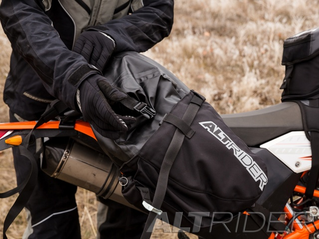 AltRider Hemisphere Saddlebag - Installed