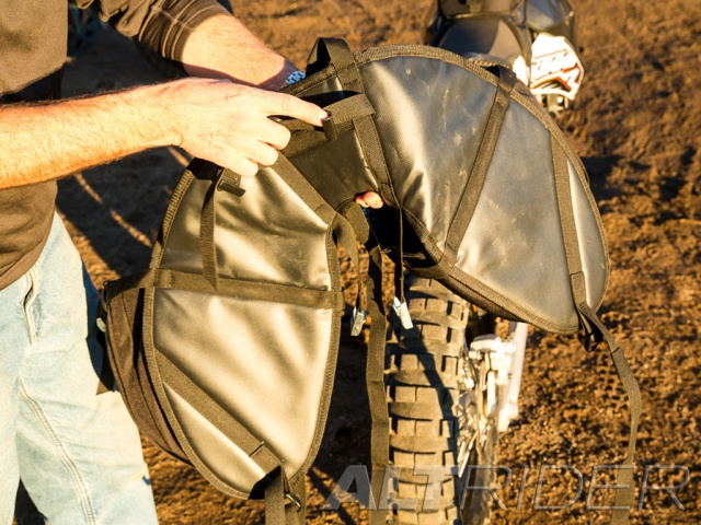 AltRider Hemisphere Saddlebag Holster System - Installed