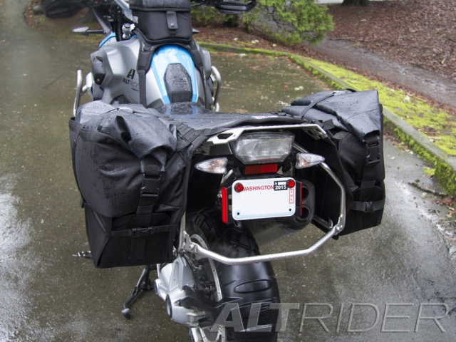 AltRider Hemisphere Soft Panniers - Installed