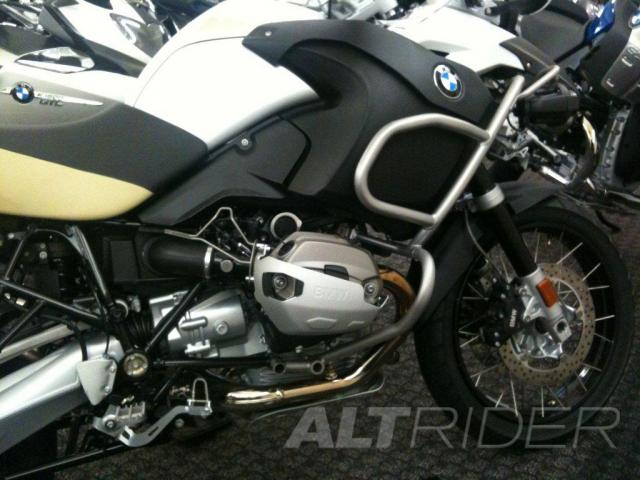 AltRider Injector Protector Kit for the BMW R 1200 GSA (2010-2013) - Installed