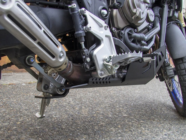 AltRider Linkage Guard for the Yamaha Tenere 700 - Installed