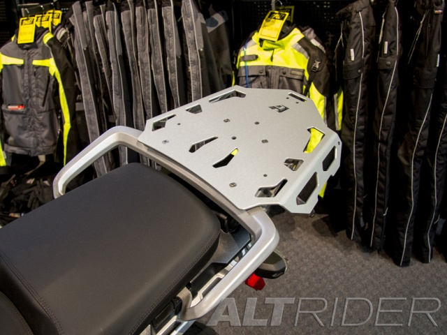 AltRider Luggage Rack for the Triumph Tiger Explorer 1200 - Installed