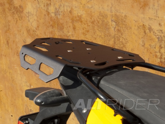 AltRider Luggage Rack Kit for BMW F 650 GS - Black - Installed