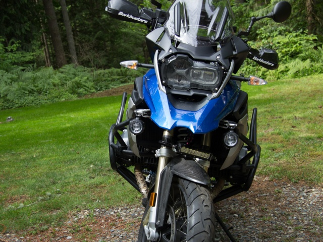 AltRider OEM LED Mount Brackets for the BMW R 1200 GS Watercooled (2017-current) - Installed