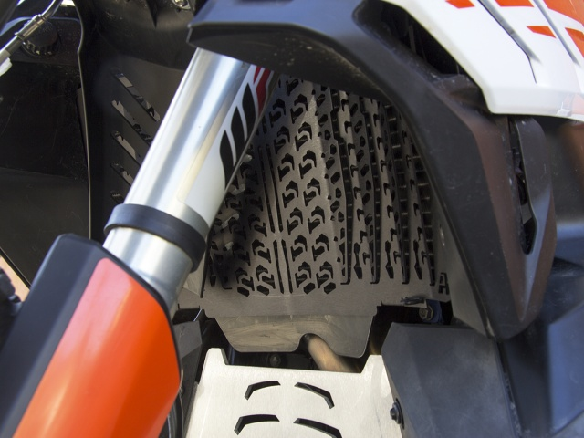 AltRider Radiator Guard for the KTM 790 Adventure / R - Installed