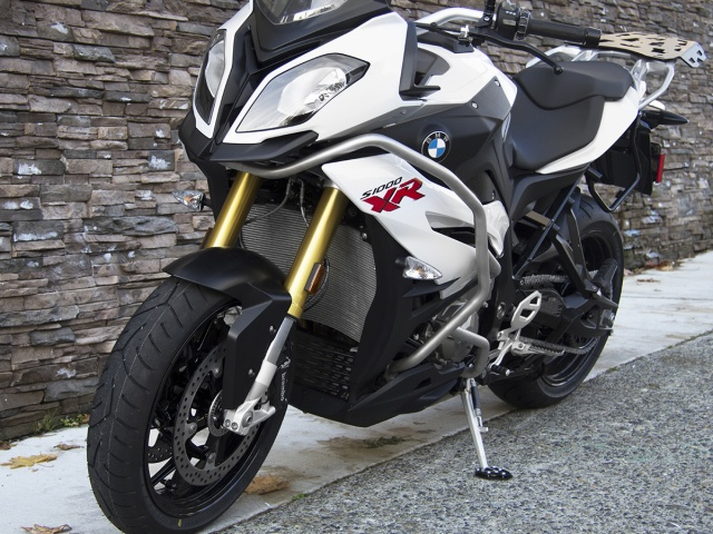 AltRider Side Stand Foot for the BMW S 1000 XR Lowered - Installed