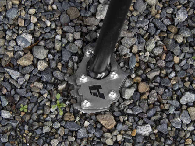 AltRider Side Stand Foot for the KTM 790 R/1050/1090/1190 Adventure / R  (2014-current) - Installed