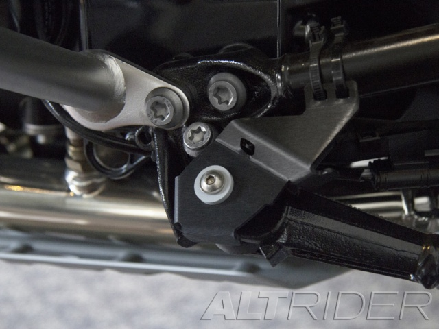 AltRider Side Stand Switch Guard for the BMW R 1200 & R 1250 GS /GSA Water Cooled - Installed