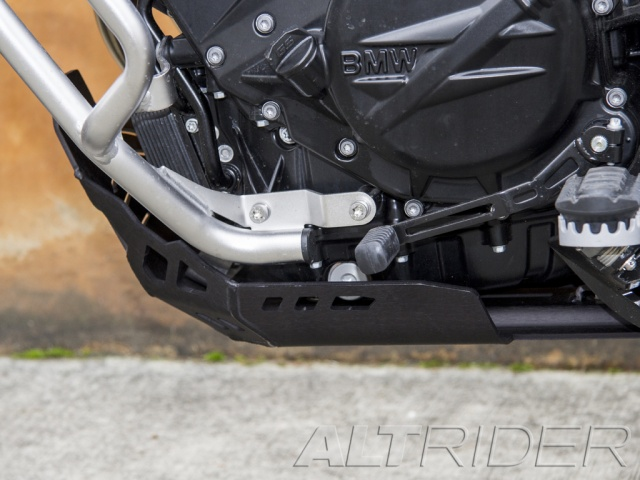 AltRider Skid Plate for BMW F 800 GS /A - Installed