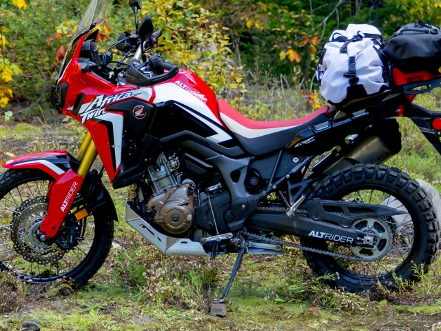 AltRider Skid Plate for the Honda CRF1000L Africa Twin/ ADV Sports - Installed