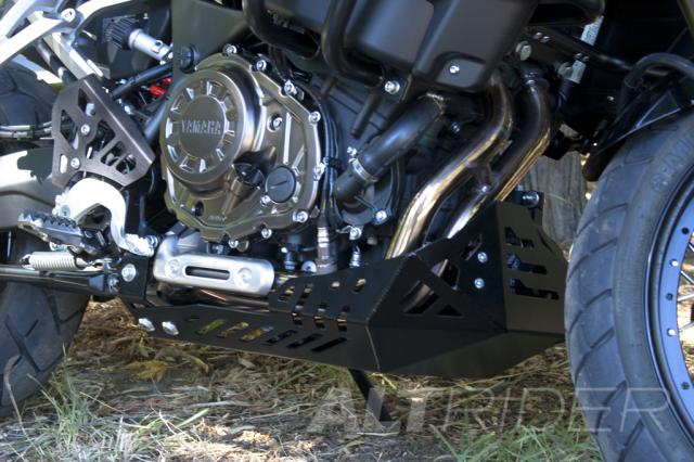 AltRider Skid Plate for the Yamaha Super Tenere XT 1200Z - Installed