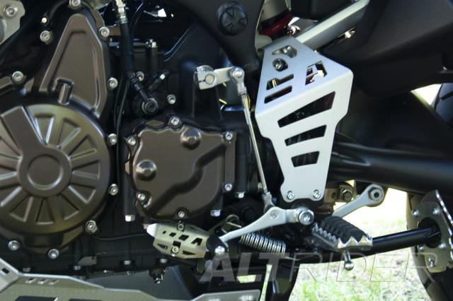 AltRider Universal Joint Guard for the Yamaha Super Tenere XT1200Z (2010-current) - Black - Installed