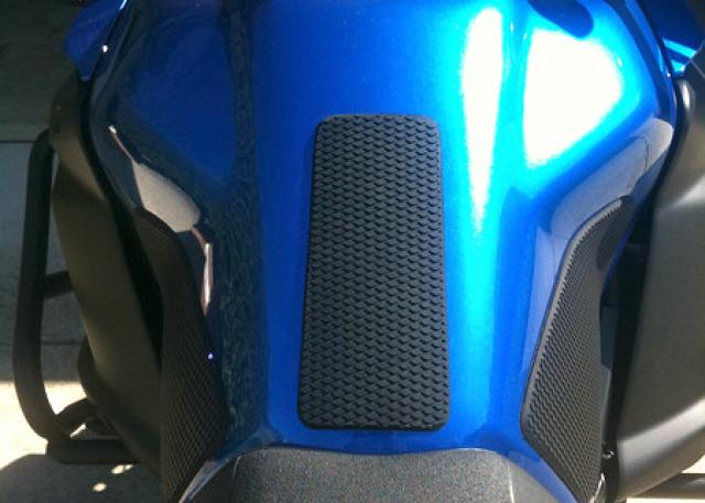 TechSpec Gripster Tank Grips - Installed