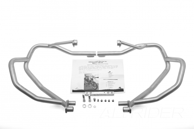 AltRider Crash Bars for the BMW R 1200 GS (2003-2012) - Silver - Product Contents