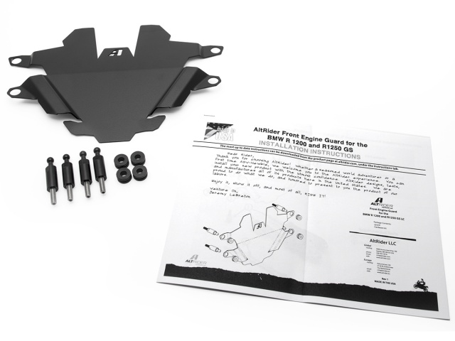 AltRider Front Engine Guard for the BMW R 1250 GS - Product Contents
