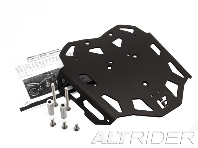AltRider Luggage Rack for the Husqvarna TR650 Terra and Strada - Black - Product Contents