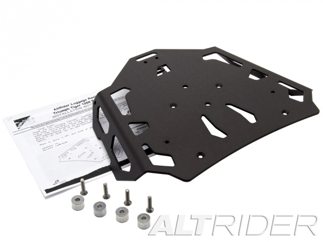 AltRider Luggage Rack for the Triumph Tiger Explorer 1200 - Black - Product Contents