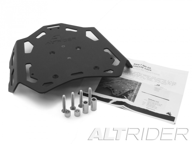AltRider Luggage Rack Kit for BMW F 650 GS - Black - Product Contents