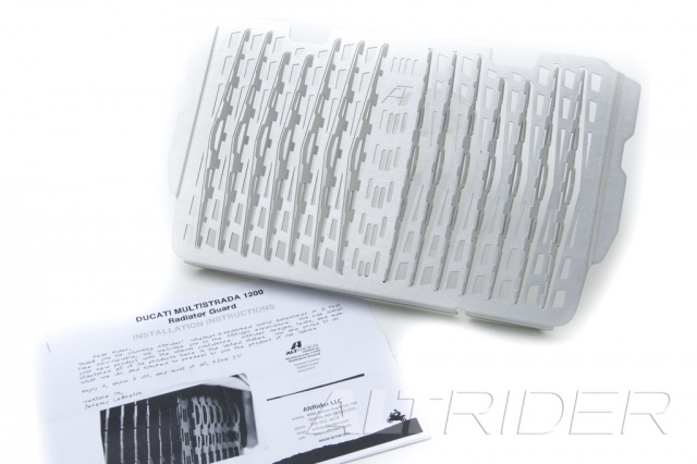 AltRider Radiator Guard for Ducati Multistrada (2015-current) - Silver - Product Contents